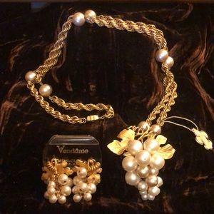 Jewelry - RARE VTG Vendome Set
